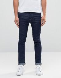 Темно-синие джинсы скинни Selected Homme - Темный синий