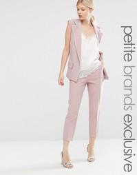 Пижамный комплект с прямыми брюками Alter Petite - Розовый