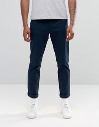 Зауженные эластичные брюки чинос Original Penguin - Темно-синий