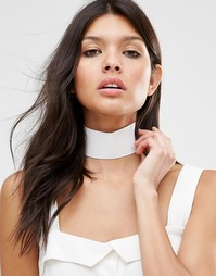 Белое ожерелье-чокер Missguided - Белый