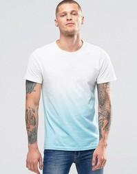 Узкая футболка с эффектом деграде Blend - Белый