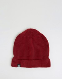Бордовая шапка-бини Herschel Supply Co Buoy - Красный