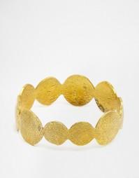 Фактурный латунный браслет Mirabelle Wayan - Латунь