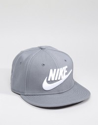 Серая бейсболка Nike Futura 584169-067 - Серый