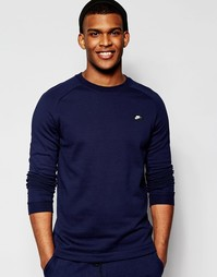 Синий свитшот с круглым вырезом Nike Modern 805126-451 - Синий