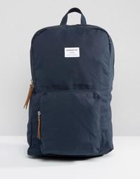 Темно-синий рюкзак Sandqvist Kim - Petrol
