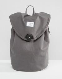 Серый рюкзак Sandqvist Hilda - Темно-серый