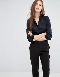 Рубашка-боди с оборками спереди Sisley - 100