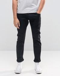 Черные зауженные джинсы Wrangler Bryson - Perfect black