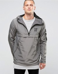 Легкая куртка через голову 11 Degrees - Серый