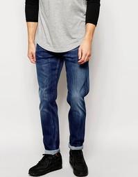 Эластичные джинсы слим Replay Anbass - Умеренный выбеленный