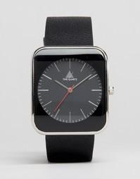 Черные квадратные часы ASOS - Черный