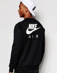 Черный свитшот Nike Air 809058-010 - Черный