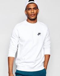 Nike Air Sweatshirt In White 809058-100 - Белый