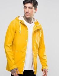 Водонепроницаемая куртка с капюшоном Another Influence - Желтый