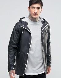 Водонепроницаемая куртка с капюшоном Another Influence - Черный
