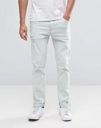 Эластичные джинсы слим ASOS - Stone