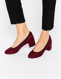 Туфли на каблуке ASOS SIMEON - Темно-бордовый