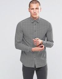 Рубашка с принтом Diesel S-Moon - Черный