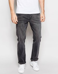 ASOS Relaxed Jeans In Mid Grey - Серый