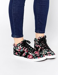 Высокие кроссовки с цветочным принтом Gola