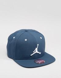 Синяя бейсболка Nike Jordan Jumpman 619360-464 - Синий