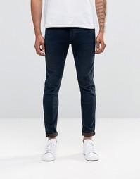 Супероблегающие джинсы Lee Malone - Синий ворон