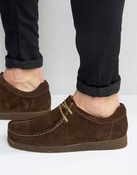 Замшевые туфли Base London XXVI Genesis - Коричневый