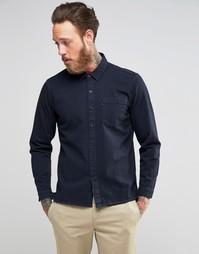 Чернильно-синяя джинсовая рубашка с карманом Levis Line 8