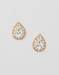 Серьги с кристаллами Swarovski Krystal