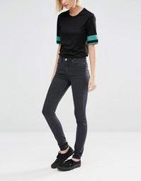 Супероблегающие джинсы Weekday - Серый