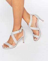 Сандалии на каблуке с перекрестными ремешками Faith Daisy - Shimmer