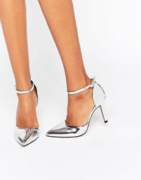 Туфли с острым носком и ремешком на щиколотке True Decadence