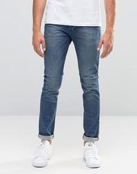 Светлые облегающие джинсы United Colors of Benetton - Light blue 902