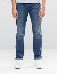 Классические джинсы из тертого денима United Colors of Benetton