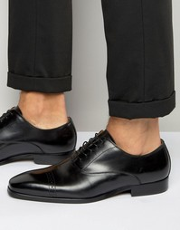 Aldo Welidia Oxford Shoes In Black Leather - Черный
