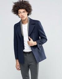 Пальто со съемной трикотажной вставкой Feraud Premium Reefer