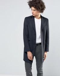 Пальто из 80% итальянской шерсти с бархатным воротником Feraud