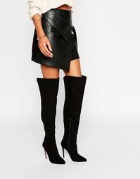 Ботфорты на каблуке Lipsy - Черный