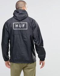 Складывающийся анорак HUF - Черный