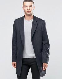 Шерстяное пальто United Colors Of Benetton - Черный700