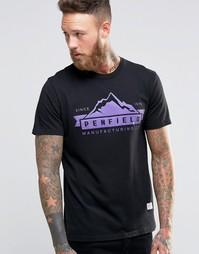Футболка с логотипом в виде гор Penfield - Черный
