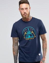 Футболка с логотипом Penfield Wigwam - Темно-синий