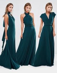 Платье-трансформер макси Coast Corwin - Зеленый лес