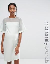 Цельнокройное платье для беременных Bluebelle Maternity - Мятный