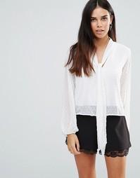 Блузка с бантом TFNC - Белый