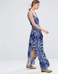 Vero Moda Easy Printed Maxi Dress - Egypt print