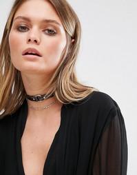 Ярусное ожерелье-чокер ALDO Collemezzo