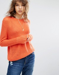 Maison Scoth Coral Knitted Jumper - Оранжевый