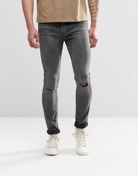 Супероблегающие рваные джинсы Levis Line 8 519